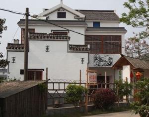 Figure 3 An upgraded rural village in Jiangsu